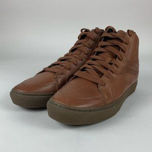 Coach Brown Leather Sneakers G1386